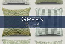 Green Accent Home Decor