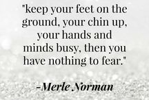 Merle's Pearls / Words of wisdom from our founder, Merle Norman, and other men and women we find inspiring! / by Merle Norman Cosmetics Inc