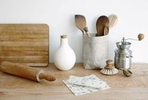 Waste Free Kitchen / Tips on creating a plastic free, Zero Waste, naturally clean kitchen full of beautiful and reusable items.