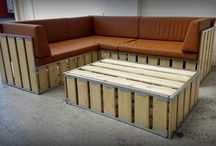 Flexi - Box System / A dozen different configurations for up to 15 people out of a box no larger than a pallet. Welcome to Flexi-box. A brand new modular seating system from Furniture On The Move.