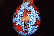 Eggshell Art / Eggs in Arts & Crafts / by wbridgesart