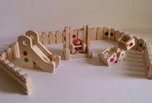 деревянные игрушки / Мои проекты на выходные дни. Интересные,несложные, доступные для мастерской в гараже.