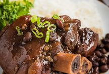 Braise dish / Black bean pork
