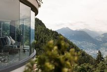 Wedding Merano South Tyrol Italy Boutique Hotel Alps / Merano South Tyrol Boutiqe Hotel Fine Dining view