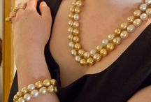 Jewelmer / Stunning natural gold south sea pearls by Jewelmer