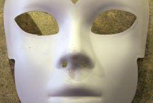DIY Paper Mache Masks