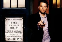 Misha Collins <3 / Castiel <3 enough said.   No even the actor can be just and charming as the character.