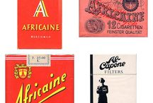 Vintage Cigarette Packages
