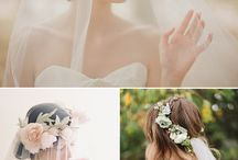 Wedding Viels, bouquets, hairstyles, etc...