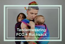 baby wearing tandem carry tandemwearing