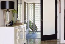 HOME Master Bath Door