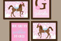 Gabby's Pony Bedroom