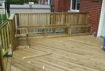 Railing for decking