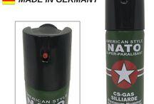 Bombe lacrymogène / Bombe lacrymogène