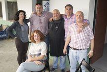 Sociedad Gastronómica de Carmona / Gran evento del 23 de Abril del 2016. Hicieron sus pinitos Don Antonio Limón y Don Pedro Gómez