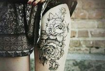 Tattoo / Beautiful botanical designs