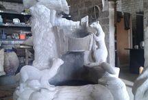 Садовые скульптуры / Изготовление садовых скульптур! От эскиза, макета до готового результата! Полностью ручная работа, гарантия 10 лет, доставка по всей России!