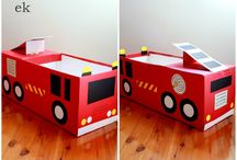 Box fire engine