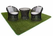 Outdoor Grass Rugs / Add a realistic looking touch of nature to your outdoor living space with a Carpet Capers outdoor grass carpet mats. Designed to replicate a real lawn, our artificial grass carpet rugs will liven up any space. Perfect for all outdoor entertainment areas.