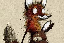 Fox&bunny