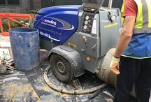 Screeding at Greenwich Square