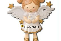 Personalized Ornaments | Angel's