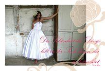A.L.W  - Über uns / Das Atelier für exklusive und handgfertigte Brautmoden stellt sich vor.