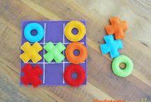 brinquedos educativos em feltro