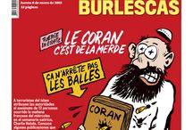 Charlie Hebdo Attack Newspaper Covers