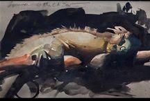 Nat. Fowkes Painting