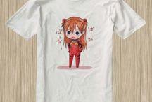 Neon Genesis Evangelion Anime Tshirt