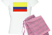 Colombia From Auntie Shoe / Designs on products with the flag of Colombia by Auntie Shoe. Other stuff as seems interesting.