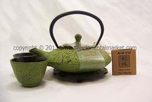 Japanese Style Cast Iron Tea Pots!