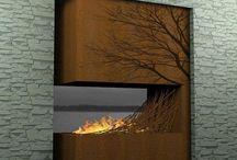 Haard | fireplace | kachel | Radiator