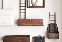 Reclaimed timber furniture / by Chay Robles-Vela