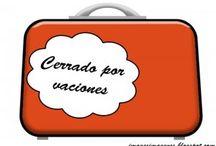 De vacaciones / Todo lo relacionado con vacaciones.