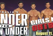 THUNDER FROM DOWN UNDER / Australia's hottest exports hit the stage showing off chiseled bodies, seductive dance routines, cheeky humor and boy-next-door charm. They will turn your wildest dreams into reality as they dance, interact with the crowd and select a fewluckyladies to join in the fun on stage.Get up close and personal with these Aussie hunks! Bring your celebration - bachelorette party, birthday bash, divorce fete - to the ultimate girls' night outback! At The Newton Theatre 8/11/2016.