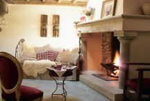 fireplaces / by Amanda Burns