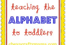 Alphabet Activities for Ollie