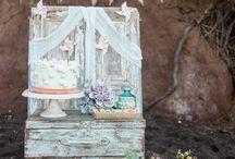 Rustic wedding / Styling a roustic wedding!