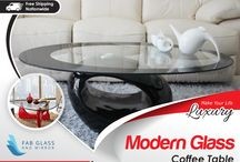 Modern Glass Coffee Table / Fab Glass & Mirror offers Modern Glass Coffee Table with Great Designs and Affordable Price You can order online by clicking here http://www.fabglassandmirror.com/glass-tables/coffee-tables or Call Us +1 888-474-2221