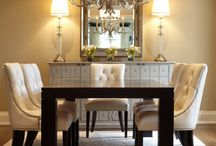 Dazzling Dining Rooms / Dining Rooms are where the entire family come together after a long, productive day. Homework, projects, meals, and conversations all take place here. Many different styles can convey different moods in this critical room, pin your favorite!