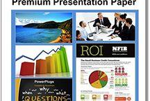 Wateproof Presentation Paper