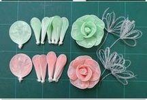 bunga dari plastik