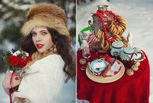 Russian style wedding | свадьба в русском стиле / inspiration for a wedding in Russian style | вдохновение для свадьбы в русском стиле