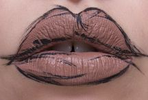 INSPIRATION: LIPS / Whether you're looking for natural balm covered lips, perfectly done liquid lips or amazing lip art there's something here for you! It doesn't matter if you have big or small lips just get inspired and paint away.