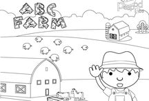 Educational Coloring Pages / Coloring Pages with Education in Mind