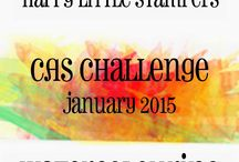 HLS January 2015 CAS Challenge / Watercolouring