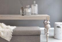 Contemporary grey interiors