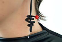 orecchini moderni
